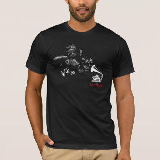 T-shirt Noir de PHONOGRAPHE