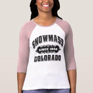 T-shirt Noir de Snowmass depuis 1946