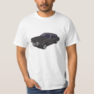 T-shirt noir de Toyota Corolla DX E70