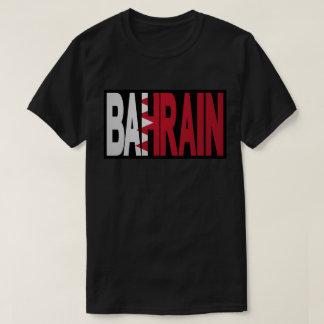 T-shirt noir du Bahrain
