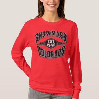 T-shirt Noir et argent de Snowmass 1946
