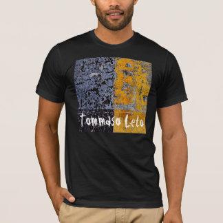 T-shirt Noir jaune