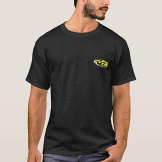 T-shirt Noir s/sleeve d'induction de sport mécanique
