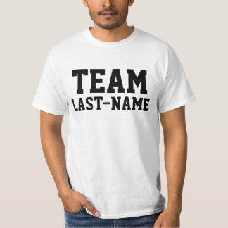 T-shirt Nom de famille d'ÉQUIPE (nom de famille)