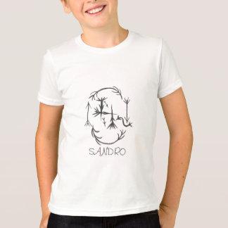 T-shirt Nom de : SANDRO