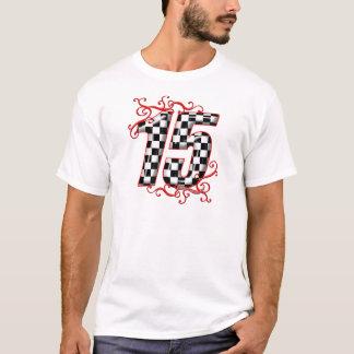 T-shirt nombre de l'emballage 15 automatique