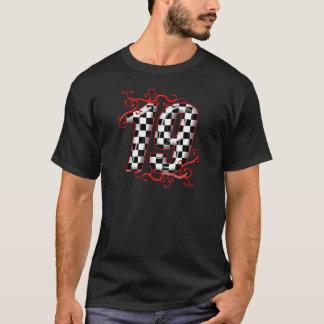 T-shirt nombre de l'emballage 19 automatique