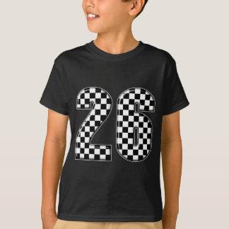 T-shirt nombre de l'emballage 26 automatique