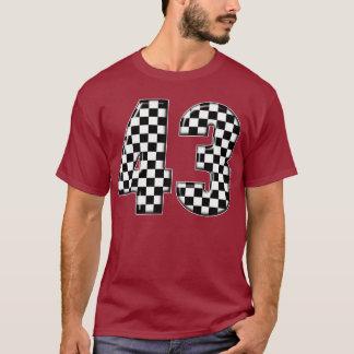T-shirt nombre de l'emballage 43 automatique