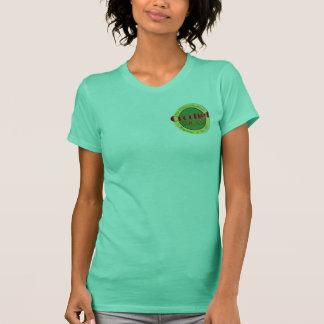 T-shirt non coupé de dames de crochet