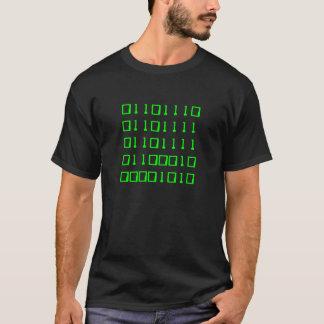 T-shirt Noob dans la binaire