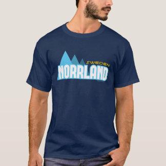 T-shirt NORRLAND Suède (les Terres du Nord suédoises)