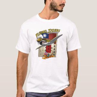T-shirt Note de sang de Flying Tigers P-40