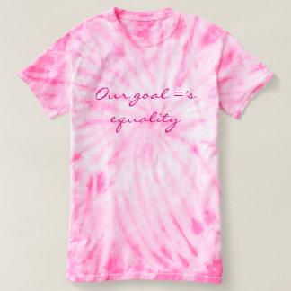 T-shirt Notre but = ' égalité de s