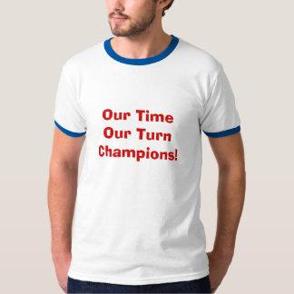 T-shirt Notre temps notre tour
