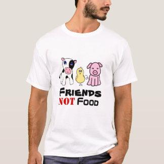T-shirt Nourriture d'amis pas