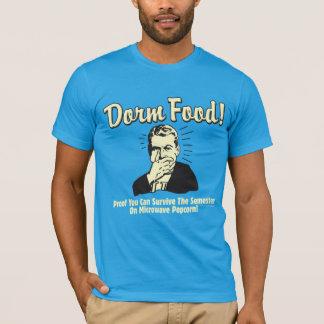 T-shirt Nourriture de dortoir : Survivez au maïs éclaté de
