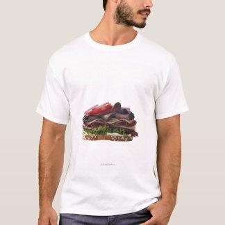 T-shirt Nourriture, nourriture et boisson, blé, pain,