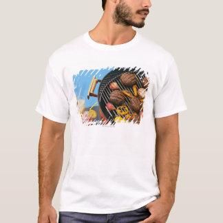 T-shirt Nourriture sur le gril