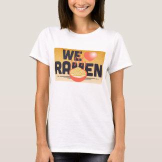 T-shirt nous aimons des ramen