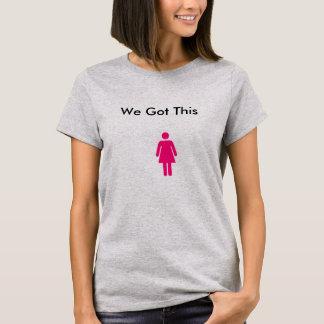 T-shirt nous avons obtenu ceci