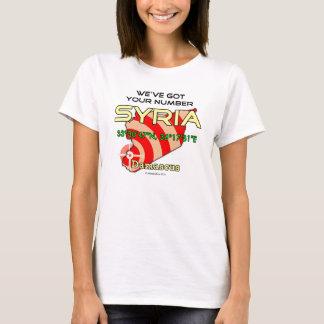 T-shirt Nous avons votre nombre Syrie
