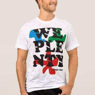 T-shirt Nous pièce en t d'abondance par nation de Jingla