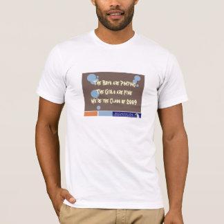 T-shirt Nous sommes la classe de 2009 - VERSION d'EDISON