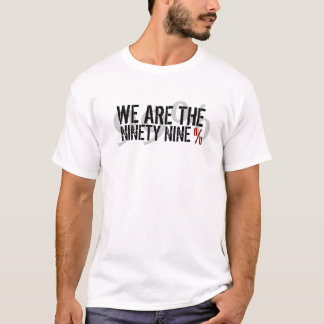 T-shirt Nous sommes les 99% - occupez Wall Street