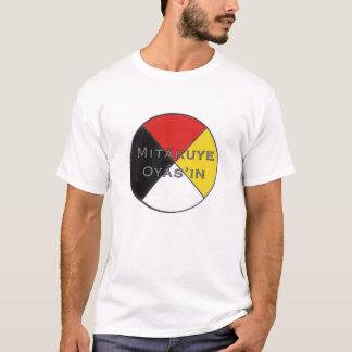 T-shirt Nous sommes tous des hommes de Mitakuye Oyasin