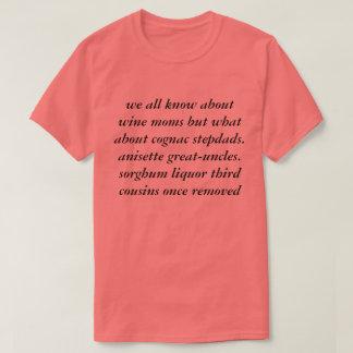 T-shirt nous tous savons des mamans de vin