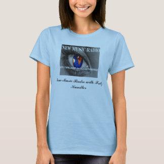 T-shirt Nouvelles dames T. de radio de musique