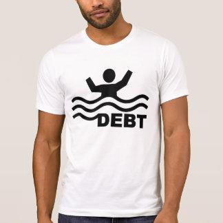 T-shirt Noyade dans la dette