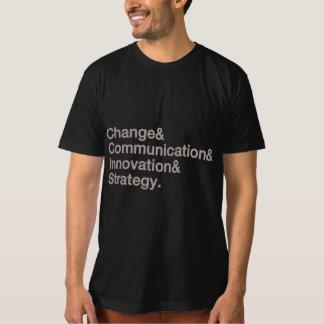 T-shirt Noyau de gestion sur la vitesse des hommes -