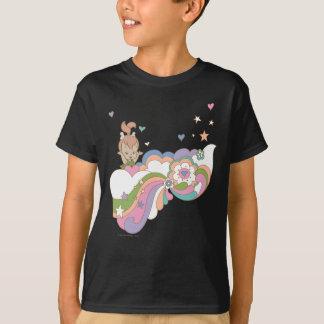 T-shirt Nuage d'arc-en-ciel de PEBBLES™