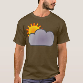 T-shirt Nuage ensoleillé