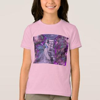 T-shirt nuage-fée-pourpre-étincelle