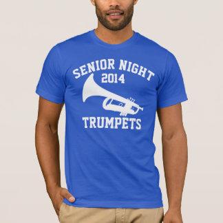 T-shirt Nuit d'aîné de trompettes