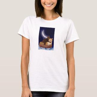 T-shirt Nuit de pièce en t de nuit