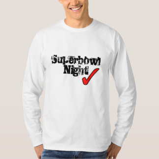 T-shirt Nuit de superbowl