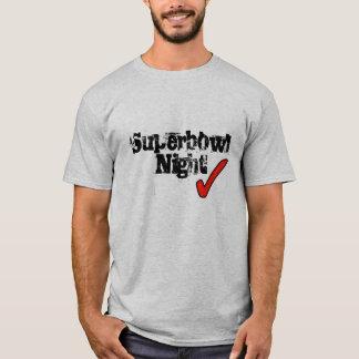 T-shirt Nuit de superbowl