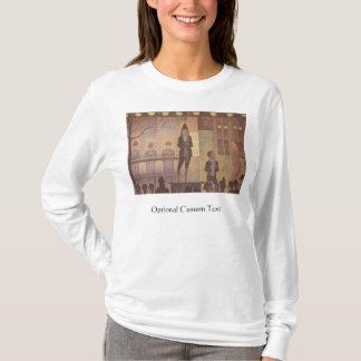 T-shirt Numéro de cirque de cirque par Georges Seurat