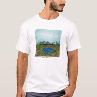 T-shirt Oasis de sombrero
