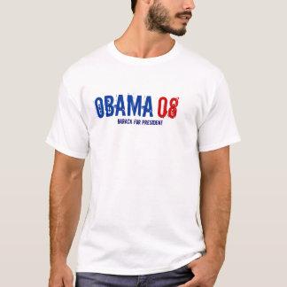 T-shirt OBAMA, 08, Barack pour le président