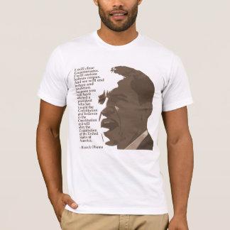 T-shirt Obama : Chemise étroite de Guantanamo