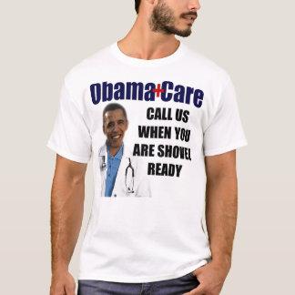 T-shirt ObamaCare : Pelle prête