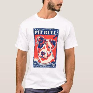 T-shirt Obéissez le pitbull !
