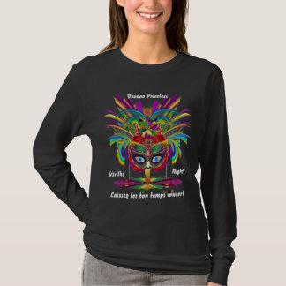 T-shirt OBSCURITÉ de femmes de vaudou de mardi gras tous