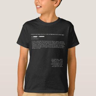 T-shirt Obscurité de la fuite 4G de NSA