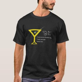 T-shirt Obscurité de Martini Ladie de baisse de citron